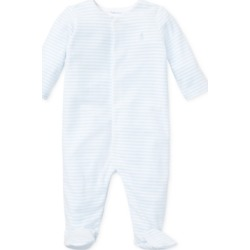 Ralph Lauren Baby Boys Striped Velour Coverall found on Bargain Bro Philippines from Macy's for $39.50