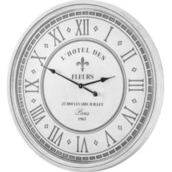 American Art Decor L'Hotel Des Fleurs 25 Blvd Juillet Paris Oversized Wall Clock