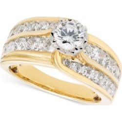 Diamond Channel-Set Engagement Ring (2 ct. t.w.) in 14k Gold found on Bargain Bro India from Macy's for $5939.55