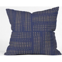 Deny Designs Zoe Wodarz Summer Porch Blue Throw Pillow