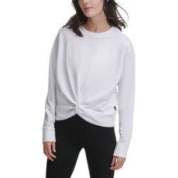 Dkny Sport Twist-Front Sweatshirt found on MODAPINS from Macy's for USD $59.50