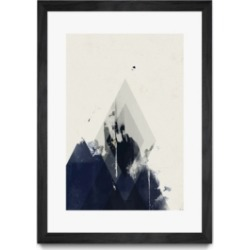 """Giant Art Beneath the Surface I Matted and Framed Art Print, 36"""" x 52"""""""