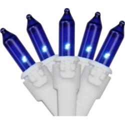 Northlight Set of 50 Blue Mini Christmas Lights 2.5
