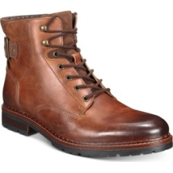 Alfani Men's Syd Leather Casual Boots, Created for Macy's Men's Shoes found on Bargain Bro Philippines from Macy's for $49.99