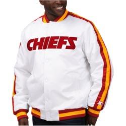 Starter Men's Kansas City Chiefs The D-Line Starter Satin Jacket