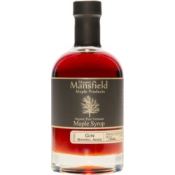 Mount Mansfield Maple Products Gin Barrel Aged Organic Vermont Maple Syrup, 375 ml found on Bargain Bro Philippines from Macy's for $27.99