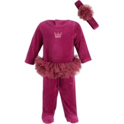 First Impressions Baby Girls Ft Ballerina Coverall, Created for Macy's found on Bargain Bro India from Macy's for $15.60