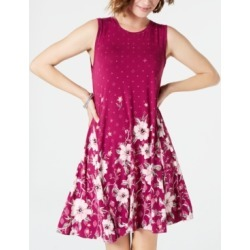 Style & Co Printed Trapeze Dress, Created for Macy's found on Bargain Bro India from Macys CA for $51.87