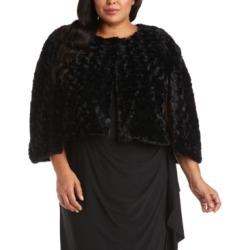 Nightway Plus Size Faux-Fur Bolero found on Bargain Bro from Macy's Australia for USD $31.11