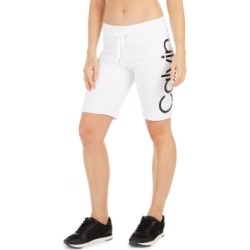Calvin Klein Performance Logo Terry Bermuda Shorts found on MODAPINS from Macy's for USD $29.62