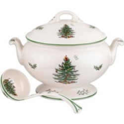 Spode Christmas Tree Footed Tureen with Ladle found on Bargain Bro Philippines from Macy's for $159.99
