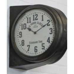 Vip Home & Garden Metal Clock