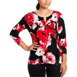 Joseph A Floral-Print Cardigan found on MODAPINS from Macy's for USD $68.00