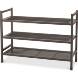 Neatfreak Heavy-Duty Stackable 3-Tier Metal Shoe Rack with Mesh Shelves found on Bargain Bro India from Macy's for $57.99