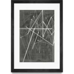 """Giant Art Vertices Ii Matted and Framed Art Print, 36"""" x 52"""""""