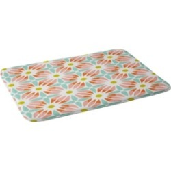 Deny Designs Heather Dutton Crazy Daisy Sorbet Bath Mat Bedding found on Bargain Bro India from Macy's for $91.99