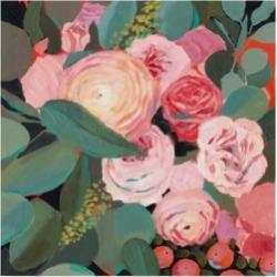 Victoria Borges Eucalyptus Bouquet Ii Canvas Art - 15