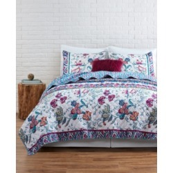 Vcny Home Floral Spell Reversible 2-Pc. Twin Quilt Set