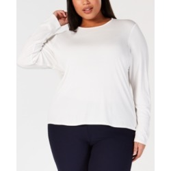 Eileen Fisher Plus Size Silk Jersey Top found on Bargain Bro India from Macys CA for $101.10