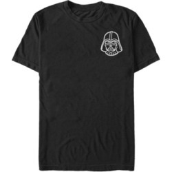 Fifth Sun Star Wars Men's Vader Classic Helmet Patch Short Sleeve T-Shirt found on MODAPINS from Macy's for USD $24.99