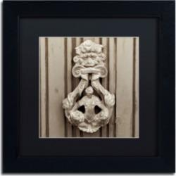 Alan Blaustein 'La Porta Soprammobile Iii' Matted Framed Art - 11