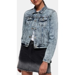 Superdry Cotton Denim Jacket found on MODAPINS from Macy's for USD $41.70