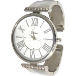 Women's Rhinestone Roman Numeral Cuff Bracelet Watch 38mm found on Bargain Bro India from Macy's for $19.99