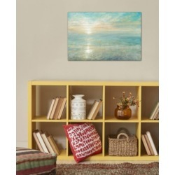 """iCanvas """"Sunrise"""" by Danhui Nai Gallery-Wrapped Canvas Print (26 x 40 x 0.75)"""