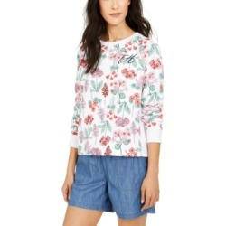 Tommy Hilfiger Floral-Print Sweatshirt found on MODAPINS from Macy's for USD $41.70