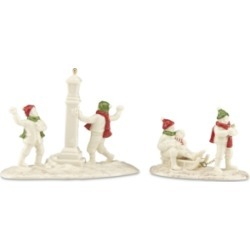 Lenox Mistletoe Park Snow Day 2-Piece Set, Created for Macy's found on Bargain Bro India from Macy's for $55.99