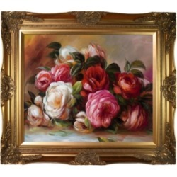 La Pastiche By Overstockart Discarded Roses with Victorian Frame, 28