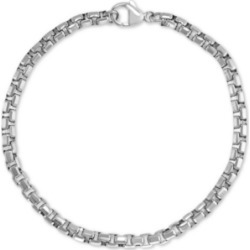 Effy Men's Link & Chain Bracelet in Sterling Silver found on Bargain Bro India from Macys CA for $129.80