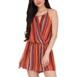 Bcx Juniors' Sedona Striped Romper found on Bargain Bro Philippines from Macy's for $29.40