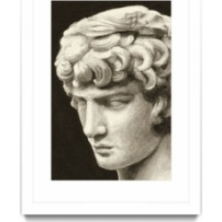 """Giant Art Roman Relic I Matted and Framed Art Print, 36"""" x 52"""""""