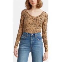 Levi's Rosie Cotton Printed Bodysuit found on MODAPINS from Macy's for USD $19.99