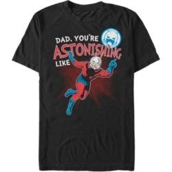 Marvel Men's Comic Collection Astonishing Like Ant-Man Short Sleeve T-Shirt