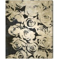 Oliver Gal Dark Rose Canvas Art, 24