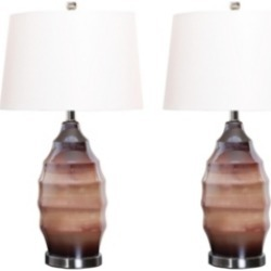 Abbyson Living Tallulah Glass Table Lamp, Set of 2 found on Bargain Bro India from Macy's for $229.00