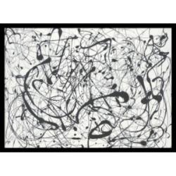 Amanti Art Number 14-Gray Framed Art Print