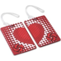Samsonite Designer 2-Pk. True Love Luggage Tags found on Bargain Bro India from Macy's for $10.00