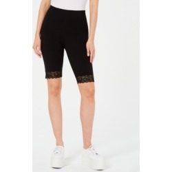 Guess Lace-Trim Biker Shorts found on MODAPINS from Macy's for USD $29.25