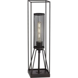Pacific Coast Industrial Oil Rubbed Bronze Finish Table Lamp