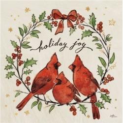 Janelle Penner Christmas Lovebirds Xi Canvas Art - 15