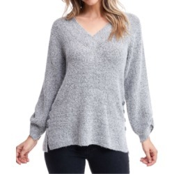 Fever Button-Trim Split-Cuff Sweater found on MODAPINS from Macy's for USD $47.60