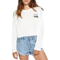 Rvca Juniors' Visions Long Sleeve T-Shirt found on MODAPINS from Macy's for USD $32.00