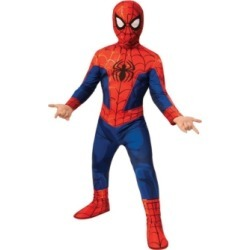 BuySeasons Spider-Man: Into the Spider-Verse Big Boy Peter Parker Spider Man Costume