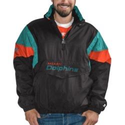 Starter Miami Dolphins 100th Starter Breakaway Pullover Jacket