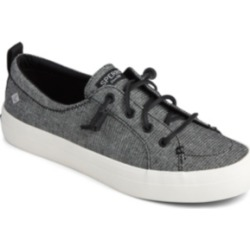 Sperry Women's Crest Vibe Sparkle Linen Sneakers Women's Shoes found on Bargain Bro India from Macy's Australia for $27.65