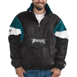 Starter Philadelphia Eagles 100th Starter Breakaway Pullover Jacket
