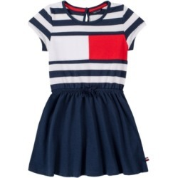 Tommy Hilfiger Little Girls Stripe Flag Tee Dress found on Bargain Bro Philippines from Macy's for $29.62